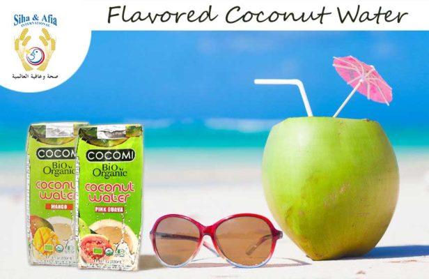 Organic Coconut Water Flavor - Mango Coconut Juice - Guava Coconut Juice