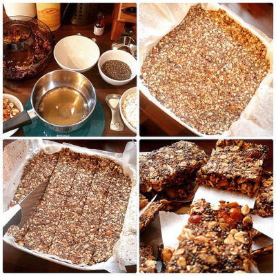 organic superfood bar - granola bar