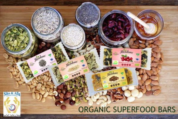 organic superfood bar