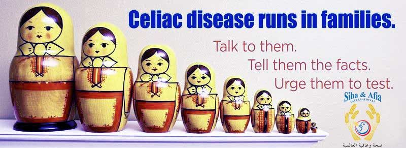 Celiac Disease runs in the family