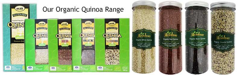 Organic Quinoa - Our-range
